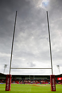 during the Challenge Cup 2017 semi final match between Hull RFC and Leeds Rhinos at the Keepmoat Stadium, Doncaster, England on 29 July 2017. Photo by Simon Davies.