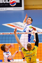 20150426 NED: Eredivisie Landstede Volleybal - Abiant Lycurgus, Zwolle<br />Tim Smit (11) of Abiant Lycurgus<br />©2015-FotoHoogendoorn.nl / Pim Waslander