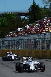 06.06.2015, Circuit Gilles Villeneuve, Montreal, CAN, FIA, Formel 1, Grand Prix von Kanada, Qualifying, im Bild Felipe Massa (BRA) Williams FW37 // during Qualifyings of the Canadian Formula One Grand Prix at the Circuit Gilles Villeneuve in Montreal, Canada on 2015/06/06. EXPA Pictures © 2015, PhotoCredit: EXPA/ Sutton Images/ Patrick Vinet<br /> <br /> *****ATTENTION - for AUT, SLO, CRO, SRB, BIH, MAZ only*****