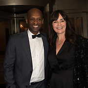Andy Abraham and guest attend the Rainbows Celebrity Charity Ball at Dorchester Hotel on June 1, 2018 in London, England.