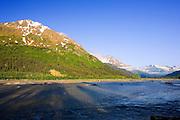 Alaska, Exit Glacier Road View, Seward