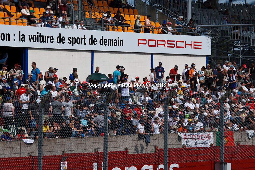 Spectators at Le Mans 24H, 2015