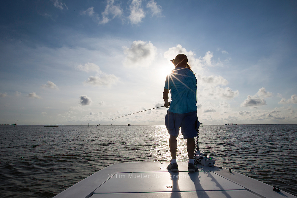 Calm Water Charters Capt. Danny Wray provides inshore and kayak fishing services around the marshes and bays surrounding Grand Isle, La.