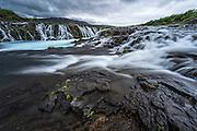 Brúarfoss in south-Iceland