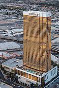 Aerial view of Trump International Hotel Las Vegas, Nevada, USA