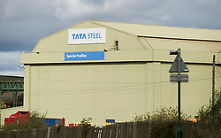 © Licensed to London News Pictures. 12/10/2012..Carlin How, Teesside, England..The Tata steel plant at Carlin How, Teesside...Photo credit : Ian Forsyth/LNP