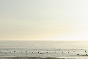 Taito beach, Chiba prefecture, Japan, July 17, 2011. Taito beach is one of Japan's best-known surfing spots and popular with surfers from nearby Tokyo.