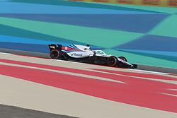 April 7, 2018 - Sakhir, Bahrain - Motorsports: FIA Formula One World Championship 2018, Grand Prix of Bahrain,#18 Lance Stroll ( CAN, Williams Martini Racing) (Credit Image: © Hoch Zwei via ZUMA Wire)