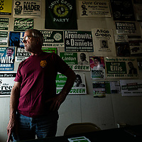Howie Hawkins of Syracuse doesn't expect to make dent in votes for the 2020 Presidential campaign, but the Green Party candidate does hope to anchor key civic and environmental issues flagged for voters at the polls to consider, and help his and other independent parties get their messages heard.