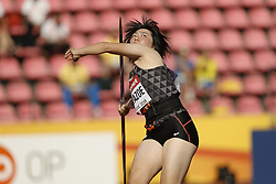 July 10, 2018 - Tampere, Suomi Finland - 180710 Friidrott, Junior-VM, Dag 1: Took Kuwazoe JPN competes in Javelin Throw during the IAAF World U20 Championships day 1 at the Ratina stadion 10. July 2018 in Tampere, Finland. (Newspix24/Kalle Parkkinen) (Credit Image: © Kalle Parkkinen/Bildbyran via ZUMA Press)