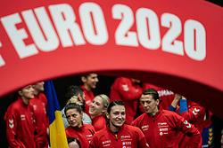 Cristina Georgiana Neagu of Romania before the Women's EHF Euro 2020 match between Poland and Romania at Sydbank Arena on december 05, 2020 in Kolding, Denmark (Photo by RHF Agency/Ronald Hoogendoorn)