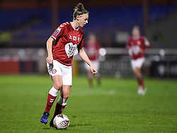 Yana Daniels of Bristol City Women - Mandatory by-line: Ryan Hiscott/JMP - 13/01/2021 - FOOTBALL - Twerton Park - Bath, England - Bristol City Women v Aston Villa Women - FA Continental Cup quarter final