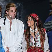 NLD/Leeuwarden/20180908 - Koning Willem Alexander en Beatrix aanwezig bij premiere de Stormruiter, Jelle de Jong en Ellen ten Damme