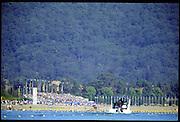 Sydney. AUSTRALIA, Men's, Olympic, Single Sculls USA M1X Don SMITH.  2000 Olympic Games - Olympic Regatta; Penrith, NSW. [Mandatory Credit: Peter Spurrier: Intersport Images] Sydney International Regatta Centre (SIRC) 2000 Olympic Rowing Regatta00085138.tif