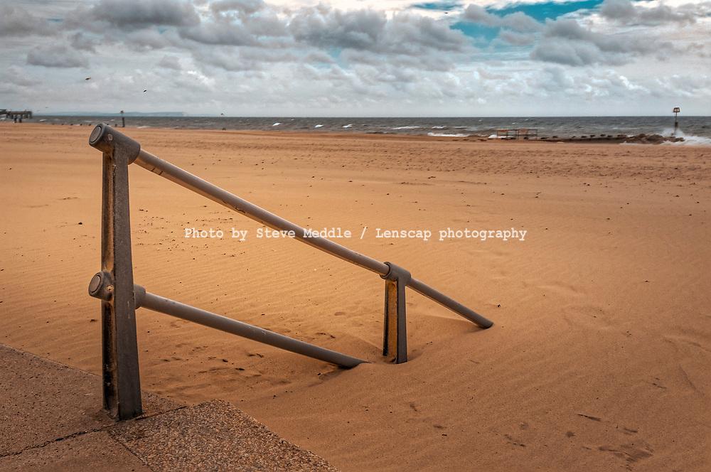 Boscombe Beach, Bournemouth, England
