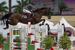 Michaels Beerbaum Meredith (GER) - Checkmate 4<br /> Horseware GP CSI 2*<br /> Wellington 2012<br /> © Hippo Foto - Cealy Tetly