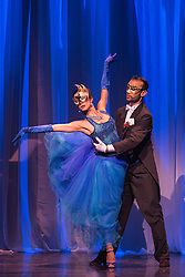 © Licensed to London News Pictures. 29/02/2016. London, UK. Marianos Balois and Sabrina Amuchastegui performing Ochi Chyornye. The Argentine Tango show Immortal Tango created by German Cornejo opens at the Peacock Theatre on 1 March 2016 and runs until 19 March 2016. Photo credit: Bettina Strenske/LNP