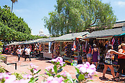 Olvera Street in Los Angeles California