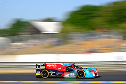 June 18, 2017 - Le Mans, Sarthe, France - Eurasia Motorsport  PHL Ligier  JSP217 rider JACQUES NICOLET (FRA) in action during the race of the 24 hours of Le Mans on the Le Mans Circuit - France (Credit Image: © Pierre Stevenin via ZUMA Wire)