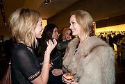 POLLY BROWN; HEIDI HARRINGTON-JOHNSON, Vogue: Fashion's Night Out: Armani. Bond st.  London. 8 September 2010.  -DO NOT ARCHIVE-© Copyright Photograph by Dafydd Jones. 248 Clapham Rd. London SW9 0PZ. Tel 0207 820 0771. www.dafjones.com.