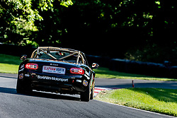 Alex Miller pictured while competing in the BRSCC Mazda MX-5 SuperCup Championship. Picture taken at Cadwell Park on August 1 & 2, 2020 by BRSCC photographer Jonathan Elsey