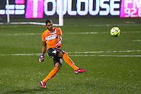 Zacharie Boucher - 28.02.2015 - Toulouse / Saint Etienne - 27eme journee de Ligue 1 -<br />Photo : Manuel Blondeau / Icon Sport