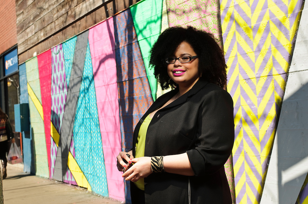 Blue Daring team photo session- Vanessa Mentor is photographed in Chicago's Wicker Park neighborhood on Saturday, May 3rd. ©2014 Brian J. Morowczynski ViaPhotos