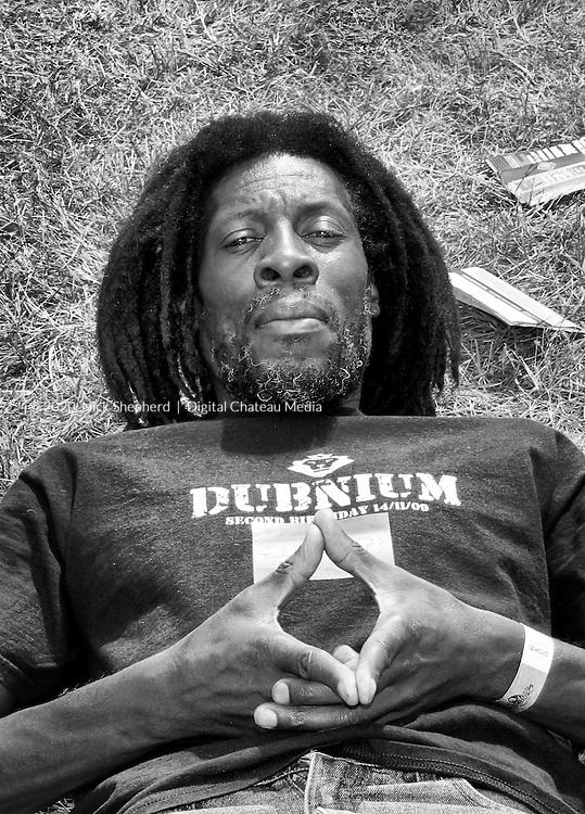 Noel Zebulon - Reggae Artist/Producer at the One Love Festival 2011 in East London. EDITORIAL USE ONLY