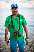 Philupus Selamlat is a fisherman and group leader of the coastal managment group in Pasar Panjang village.  The fishermen and villagers have benefited from new boats, fishing equiptment, marine protected areas and ecotourism projects supported by the Indonesia Government and IFAD through the Coastal Community Development Project.