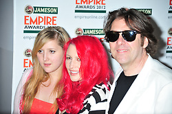 © Licensed to London News Pictures. 25/03/2012. London, England. Jonathan Ross and Jane Goldman attends the  Jameson Empire Awards held at the Grosvenor Hotel London  Photo credit : ALAN ROXBOROUGH/LNP