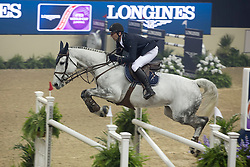 Varna Andis, (LAT), KS Coradina<br /> Longines FEI World Cup™ Jumping Final III round 1<br /> Las Vegas 2015<br />  © Hippo Foto - Dirk Caremans<br /> 19/04/15