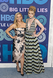 May 29, 2019 - New York, New York, United States - Reese Witherspoon and Kathryn Newton attend HBO Big Little Lies Season 2 Premiere at Jazz at Lincoln Center  (Credit Image: © Lev Radin/Pacific Press via ZUMA Wire)