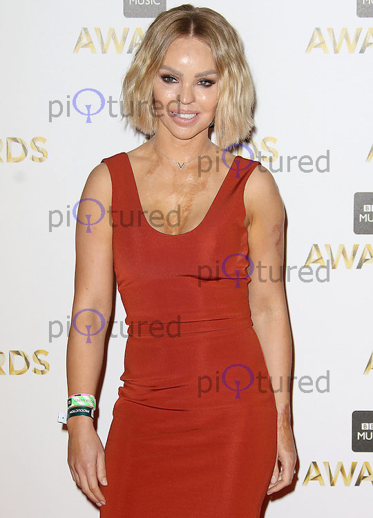 Katie Piper, BBC Music Awards 2016, Excel Centre, London UK, 12 December 2016, Photo by Brett D. Cove