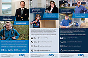 Commercial Advertising photography by Northern Virginia Photographer jeff Mauritzen of inPhotograph for COX Business.