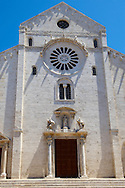 San Nicala cathedral, Bari, Puglia, Italy .<br /> <br /> Visit our ITALY HISTORIC PLACES PHOTO COLLECTION for more   photos of Italy to download or buy as prints https://funkystock.photoshelter.com/gallery-collection/2b-Pictures-Images-of-Italy-Photos-of-Italian-Historic-Landmark-Sites/C0000qxA2zGFjd_k