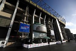 General view of the stadium ahead of the Quilter International match at Twickenham Stadium, London
