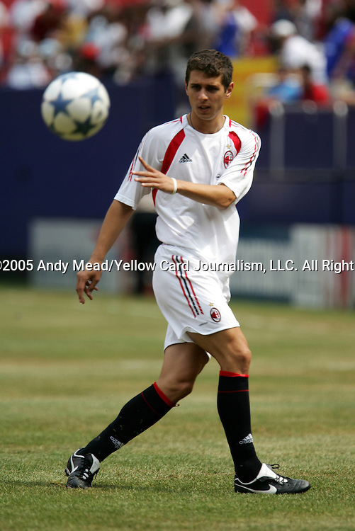 31 July 2005: Lino Marzoratti. Chelsea FC of England and AC Milan of Spain tied 1-1 at Giants Stadium in East Rutherford, New Jersey in an international friendly soccer match as part of AEG's 2005 World Series of Football. .