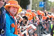 De koninklijke familie is in Zwolle voor de viering van Koningsdag. /// The royal family is in Zwolle for the celebration of King's Day.<br /> <br /> Op de foto / On the photo:  Publiek / Public