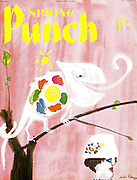 Punch cover Spring Number 17 April 1957