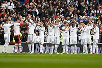 27.01.2013 SPAIN -  La Liga 12/13 Matchday 21th  match played between Real Madrid CF vs Getafe C.F. (4-0) at Santiago Bernabeu stadium. The picture show