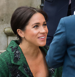 March 11, 2019 - London, London, United Kingdom - Prince Harry and Meghan Duchess of Sussex co-host event as part of Commonwealth day, celebrating the diverse community of young Canadians living in London and around the UK, at Canada House... Prince Harry and Meghan Duchess of Sussex at Canada House. (Credit Image: © Nils Jorgensen/i-Images via ZUMA Press)