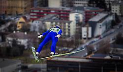 03.01.2014, Bergisel Schanze, Innsbruck, AUT, FIS Ski Sprung Weltcup, 62. Vierschanzentournee, Training, im Bild Gregor Schlierenzauer (AUT) // Gregor Schlierenzauer (AUT) during practice Jump of 62nd Four Hills Tournament of FIS Ski Jumping World Cup at the Bergisel Schanze, Innsbruck, <br /> Austria on 2014/01/03. EXPA Pictures © 2014, PhotoCredit: EXPA/ JFK