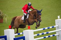 Kraut Laura (USA) - Teirra<br /> World Equestrian Festival, CHIO Aachen 2011<br /> © Dirk Caremans