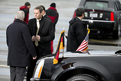 November 18, 2016 - Berlin, Germany - The presidential car is pictured prior to the departure of US President Barack Obama at Tegel airport in Berlin, Germany on November 18, 2016. (Credit Image: © Emmanuele Contini/NurPhoto via ZUMA Press)