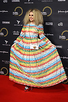 Tallia Storm at the Global Citizen Prize at the Royal Albert Hall in London 12th dec 2019 Photo by Cat morley