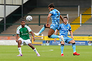 Dominic Bernard (3) of Forest Green Rovers controls the ball during the Pre-Season Friendly match between Yeovil Town and Forest Green Rovers at Huish Park, Yeovil, England on 31 July 2021.