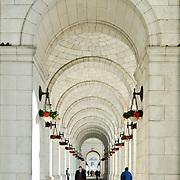 Arches on the exterior of Union Station, Washington DC