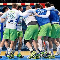 20170124: FRA, Handball - IHF Men's World Championship, Slovenia vs Qatar