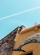 ITALY, RIMINI, view of the Borgo