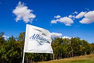 19-09-2015: Albatross Golfresort in Vysoky Ujezd, Tsjechië.<br /> Foto: Vlag van Albastross